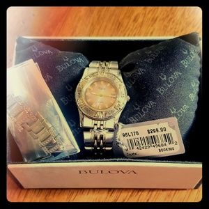 Brand new in box womens caravelle by bulova watch